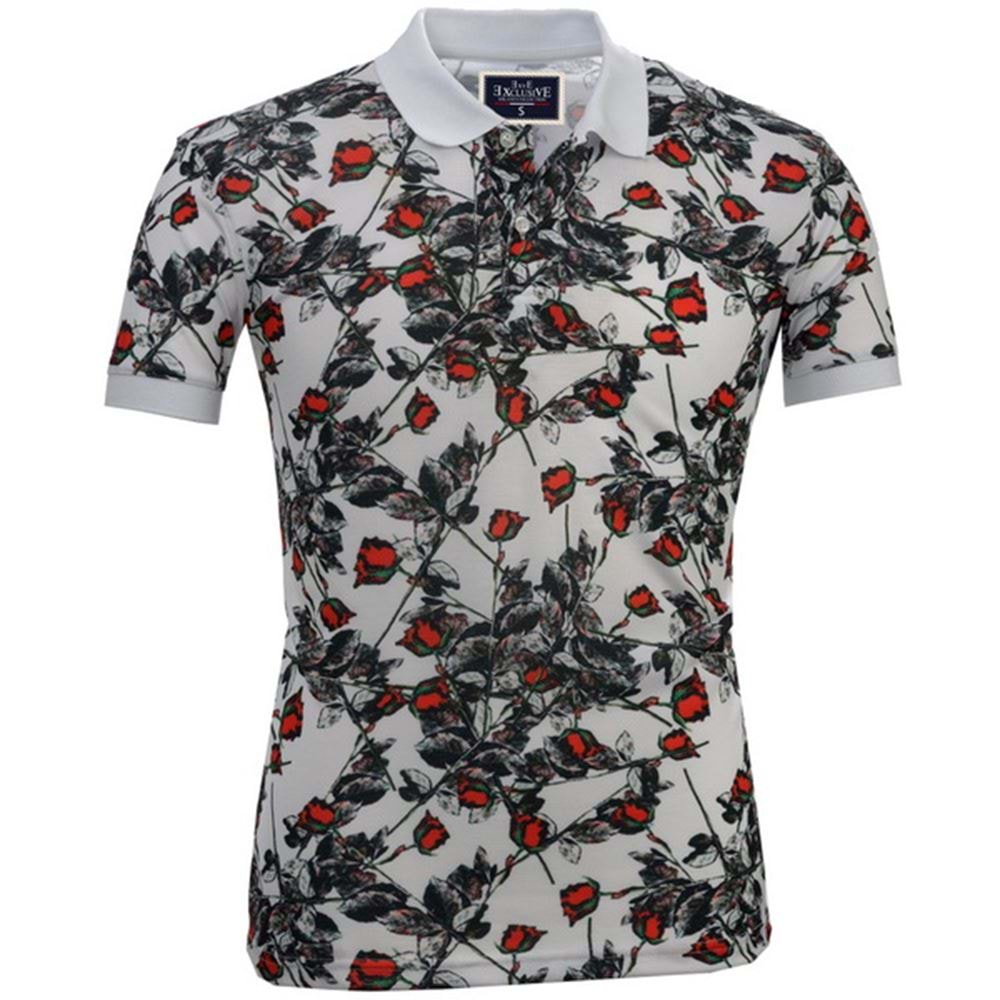 Rose Polo Shirt